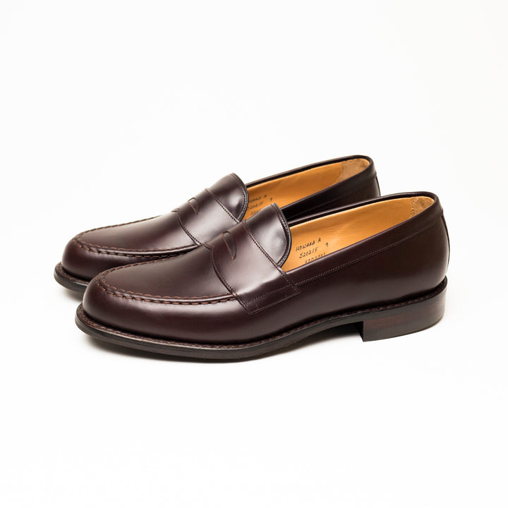 Cheaney Howard R Penny Loafer (Burgundy)
