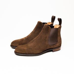 Cheaney Godfrey D Chelsea Boot (Plough Suede)