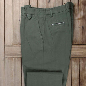 A.B.C.L. Selvedge Chino (Green)
