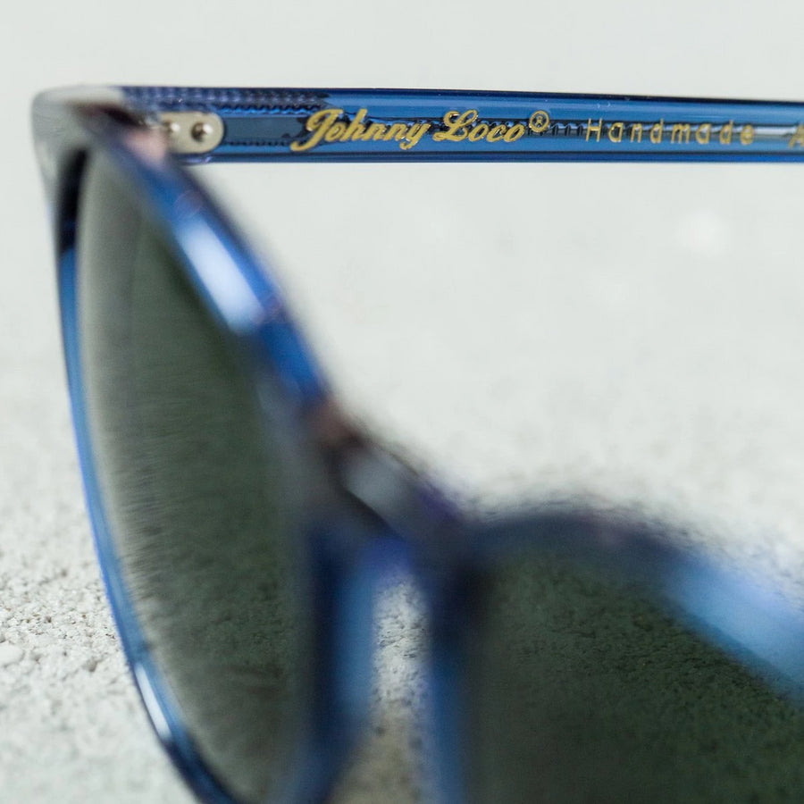 Benzak x Johnny Loco Sunglasses (Indigo Dip)