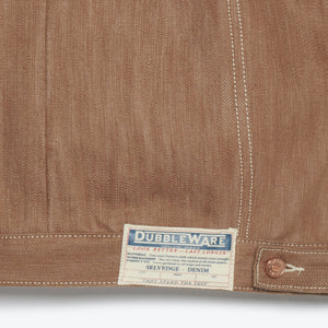 Dubbleware Nives Denim Jacket (Brown)