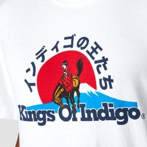 King of Indigo Darius Tee (White Geisha)