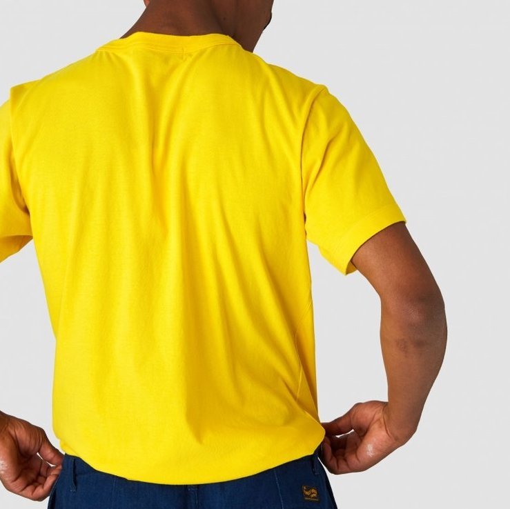 King of Indigo Darius Tee (Lemon)