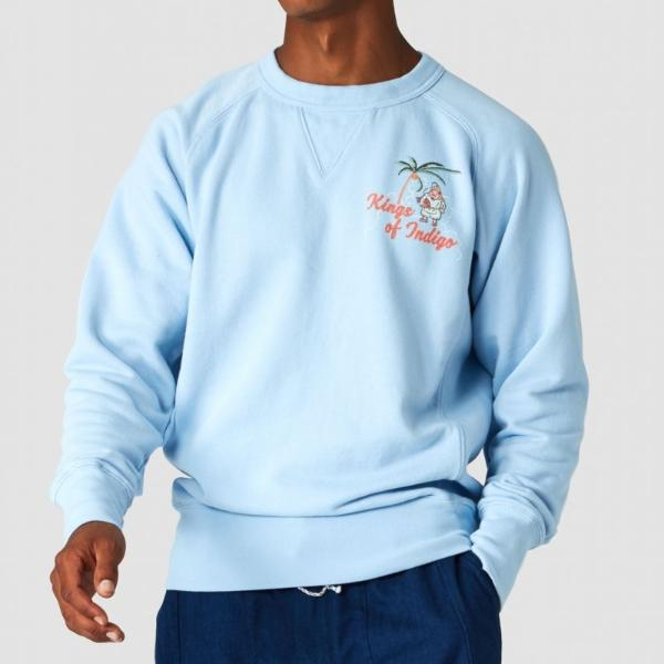 Kings of Indigo Parnell Sweatshirt (Blue Bell)