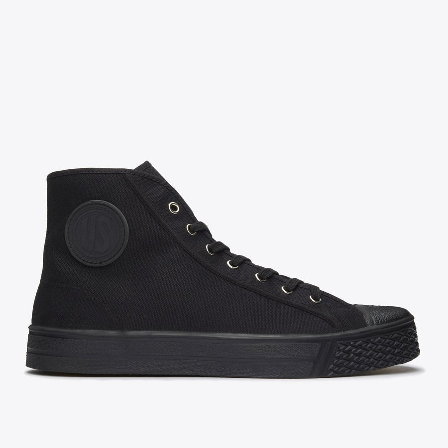 US Rubber Co.High Top (Black)