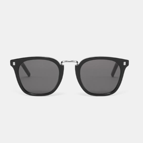 Monokel 'Ando'  (Black - Solid Grey Lens)