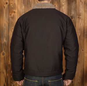 Pike Brothers N1 Deck Jacket (Faded Black)