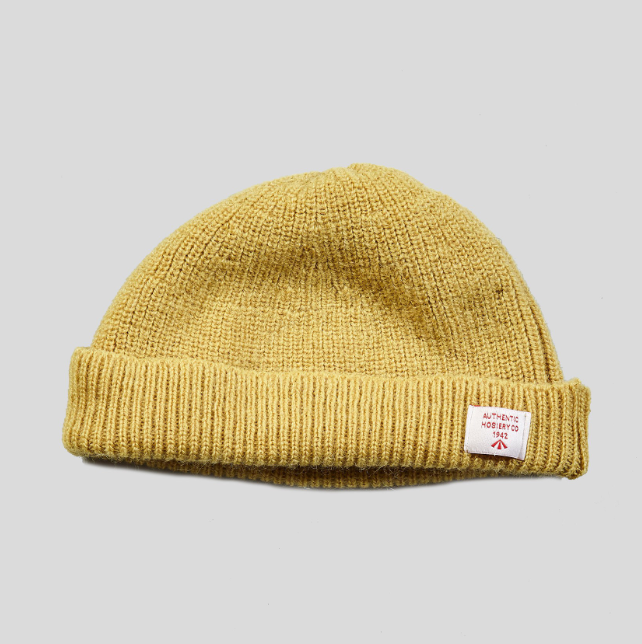 1e0079bfe54 Nigel Cabourn Plain Beanie (Sunflower) – Arnold   Co