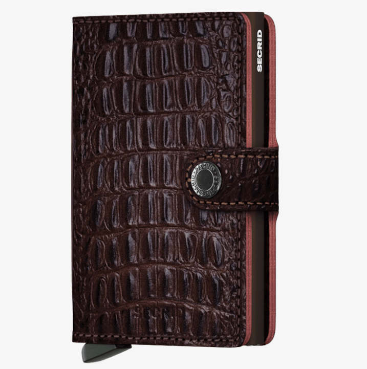Secrid Miniwallet (Nile Brown)