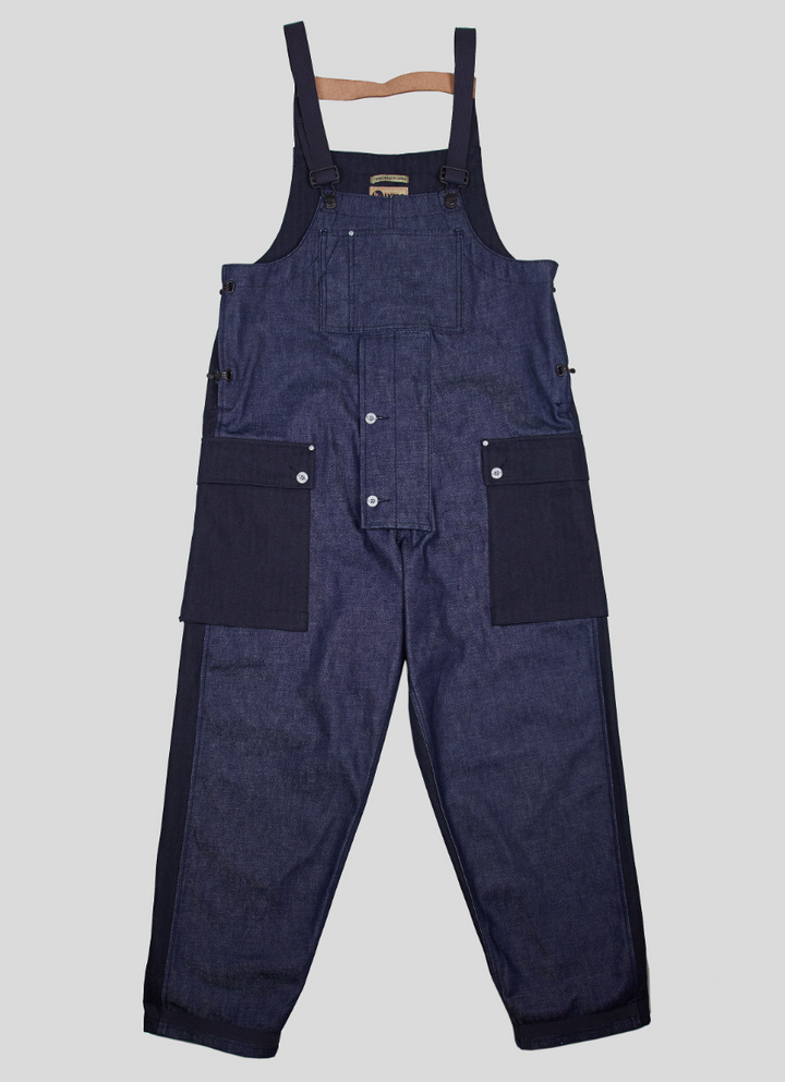 Nigel Cabourn Dungaree (Black/Navy)