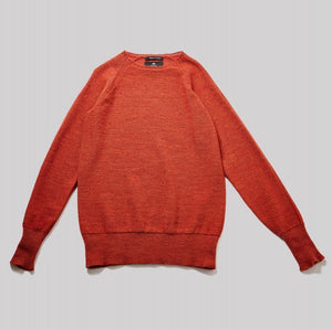 Nigel Cabourn Raglan Crew (Dark Orange)