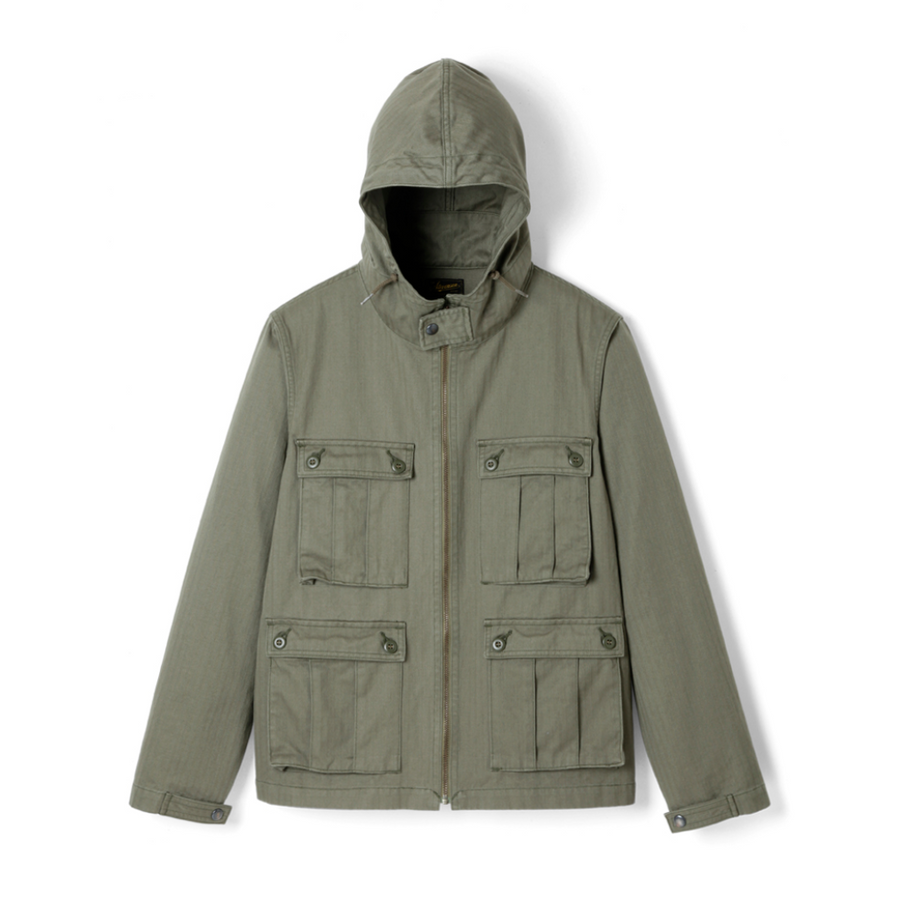 Stevenson Overall Co. Paramarine Jacket PM1 (Olive)