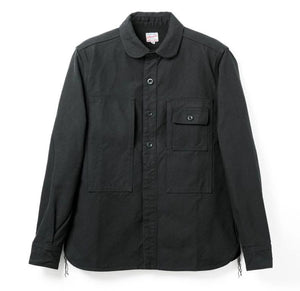 Momotaro Heavyweight Serge Shirt (Black)
