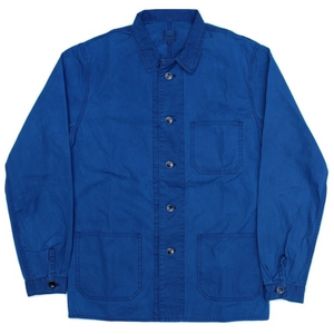 Momotaro Indigo French Workshirt