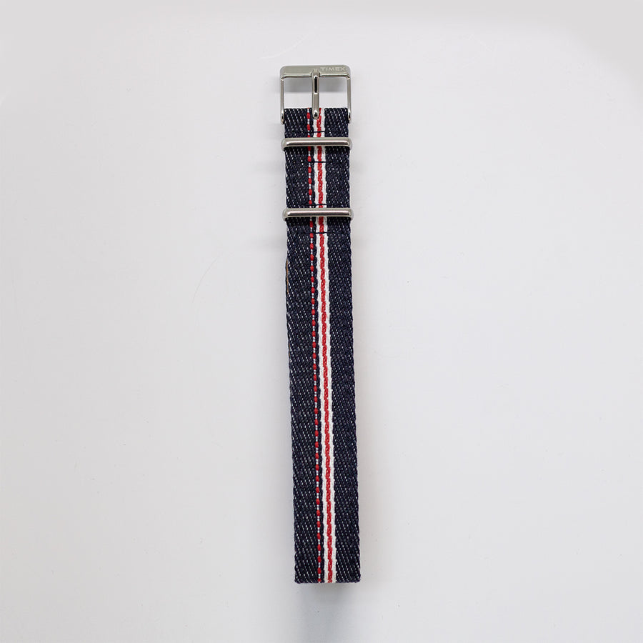 Navi Watch Strap A - Selvedge Denim