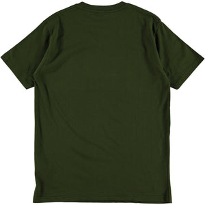 Dubbleware 'Satisfaction' Tee (Military Green)