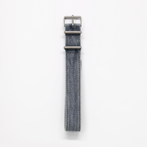 Pioneer Watch Strap E - Stone Washed Seasoned Twill