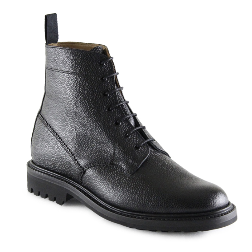 Sanders 'Kelso' Boot (Black)