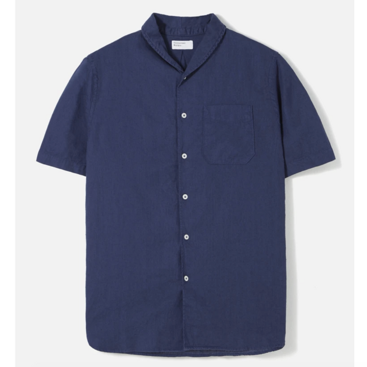 Universal Works Shawl Collar Shirt (Blueprint)
