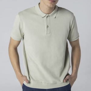 Unfeigned Polo Shirt (Eucalyptus)