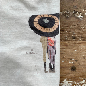 A.B.C.L. Japanese Logo Tee (Off White)
