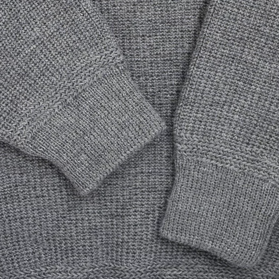 Heimat Crew Neck Sweater (Battleship Grey)