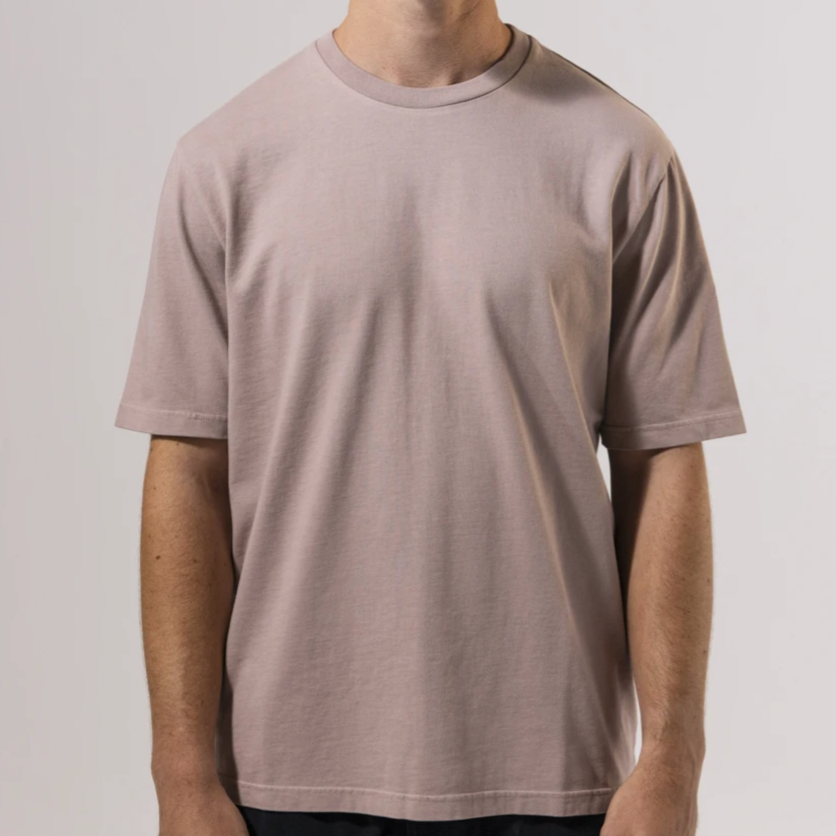 Unfeigned Basic Tee (Bark)
