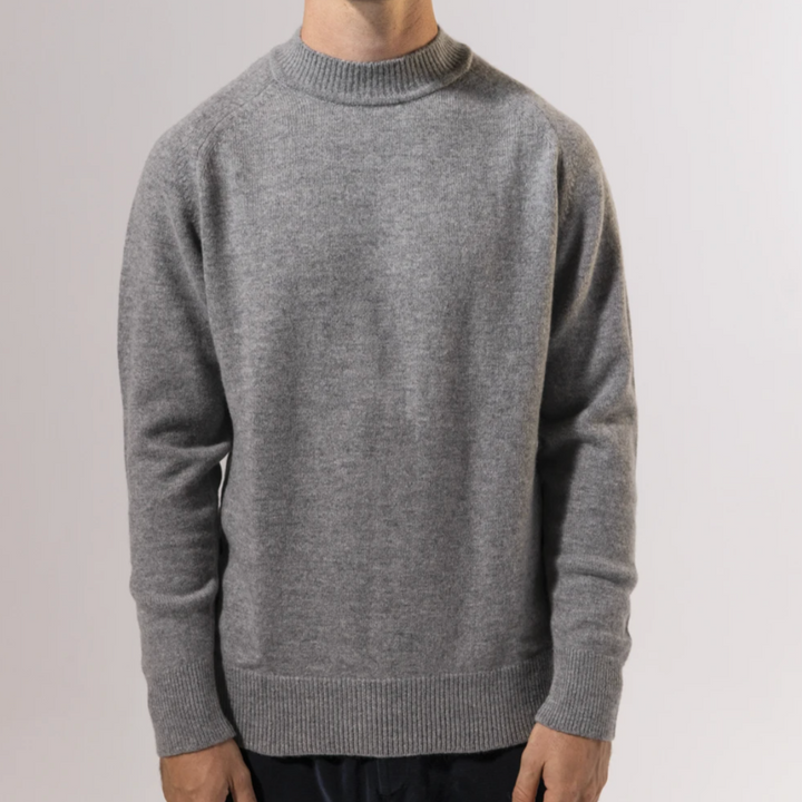 Unfeigned Cashmere Knit (Light Grey)