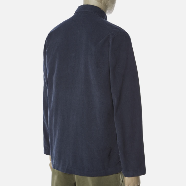 Universal Works Bakers Overshirt (Navy Cord)