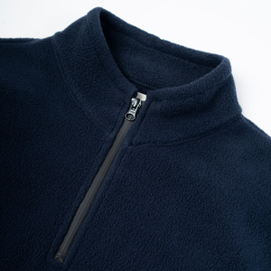 Kestin 'Crieff' Fleece Windbreaker (Navy)