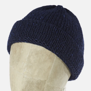 Universal Works Short Watch Cap (Navy)