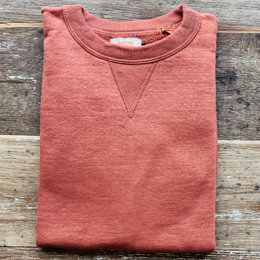 Sunray Laniakea Crew Neck Sweat  (Spiced Apple)