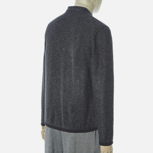 Universal Works Fleece Cardigan (Charcoal)