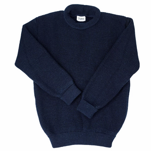Heimat Mini Roll Neck Sweater (Navy)