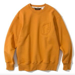 Uniform Bridge Watch Pocket Sweatshirt (Orange)