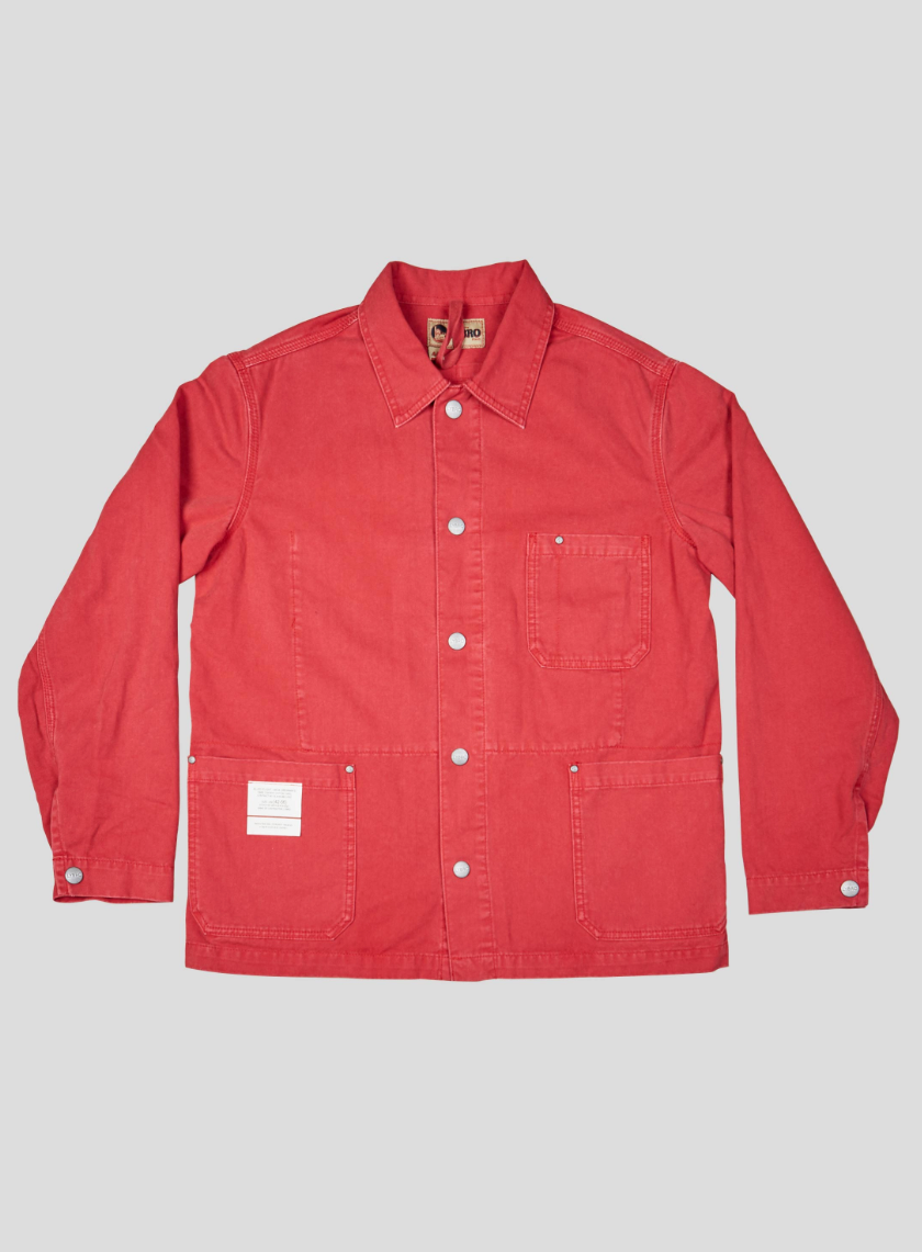 Nigel Cabourn Field Jacket (Red)