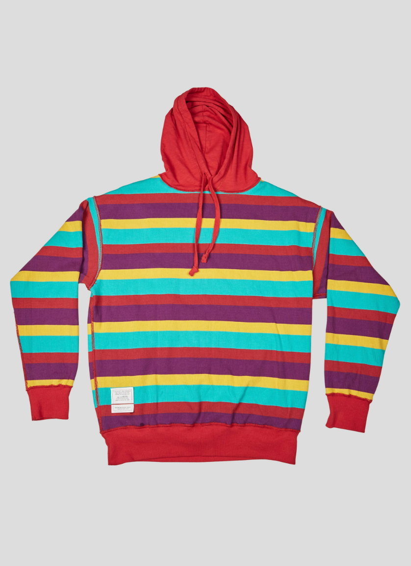 Nigel Cabourn Reversible Hoody (Red)