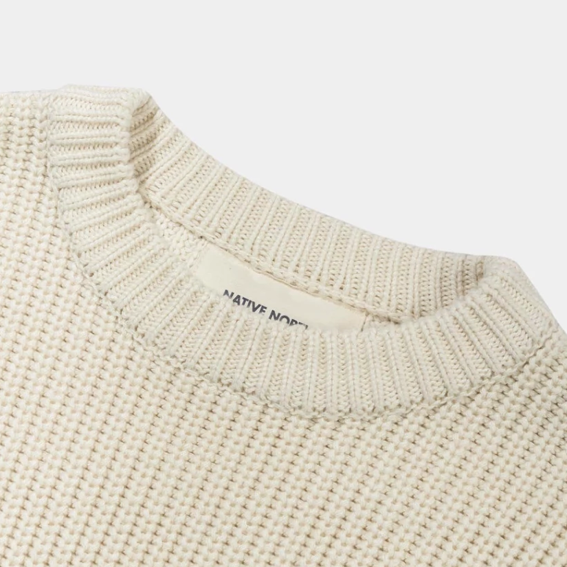 Native North 'Asker' Knit (Off White)