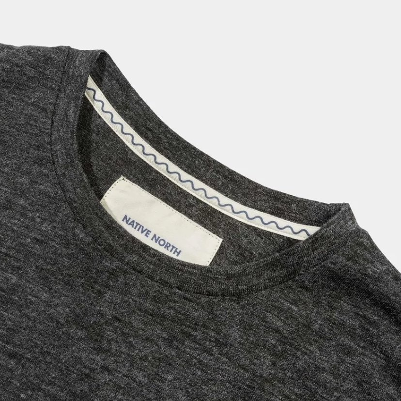 Native North 'Phill' Melange Tee (Grey)