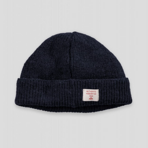 Nigel Cabourn Knit Hat (Black Navy)