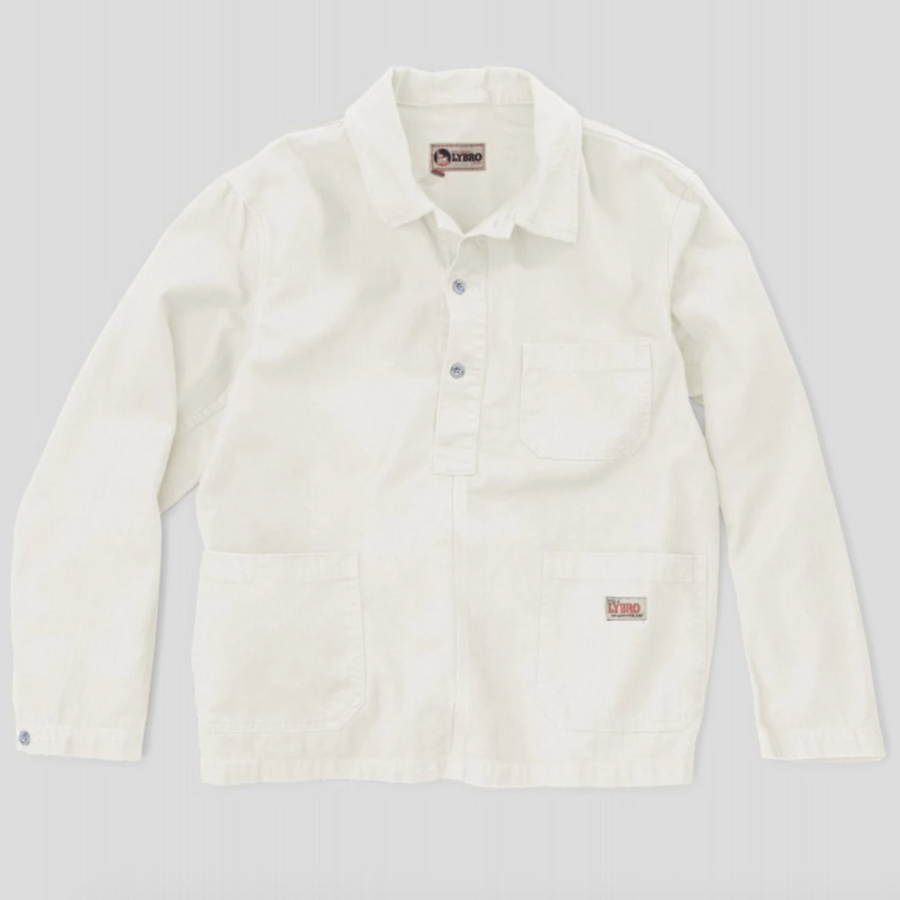 Nigel Cabourn POH Deck Shirt (Worn White)