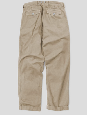Nigel Cabourn Pleated Chino (British Tan)