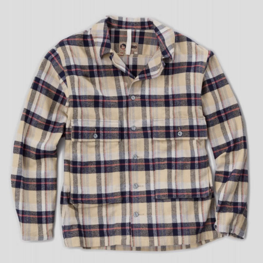 Nigel Cabourn Check Shirt (Yellow)