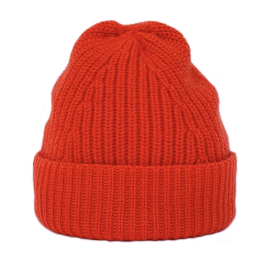 TWC Merino Beanie (Orange)