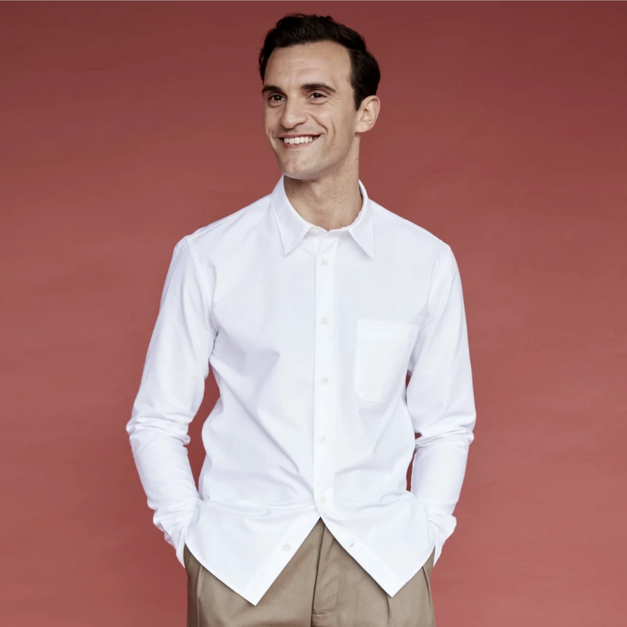 TWC Oxford Cotton Shirt (White)