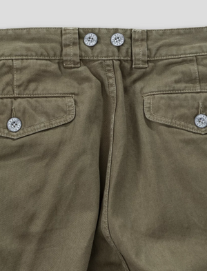 Nigel Cabourn Pleated Chino (Army)