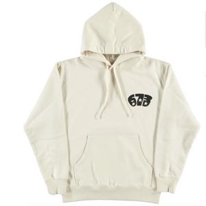 Eat Dust Trucker Hoodie (Off White)