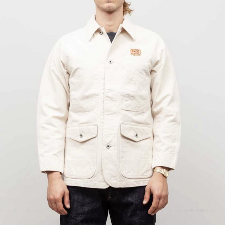 Pallet Life Story Painter Jacket (Ecru)