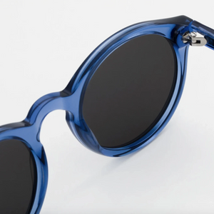 Monokel 'Barstow' (Blue - Solid Grey Lenses)