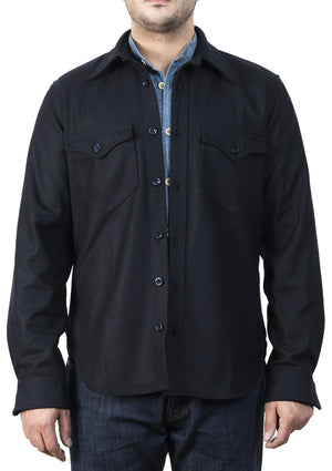 Captain Santors Shirt 8804 (Navy wool)